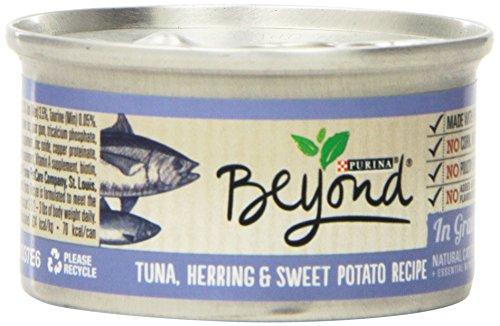 Purina Beyond Gravy Tuna, Herring & Sweet Potato Recipe Wet Cat Food
