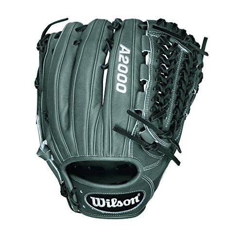 Wilson A2000 D33 Pitcher Baseball Glove, Grey/Black/White, Right Hand Thrower (Pitcher Baseball Glove compare prices)