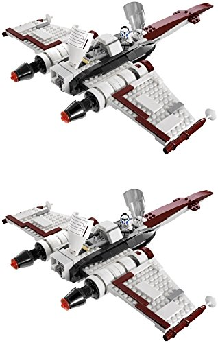 LEGO City Star Wars Z-95 Headhunter - 2 Iron On Heat Transfers 7