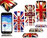 UNION JACK KEEP CALM ENGLAND HARD CASE COVER FOR SAMSUNG GALAXY S4 MINI I9190