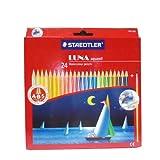 Staedtler Luna Aquarell ABS Water Color Pencils - Box Of 24 Colors