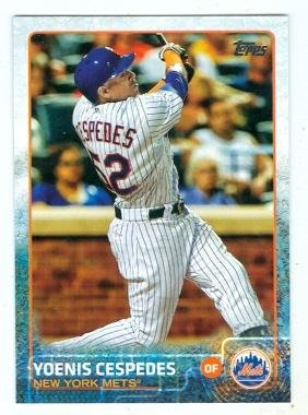 Yoenis Cespedes baseball card (New York Mets) 2015 Topps #US155