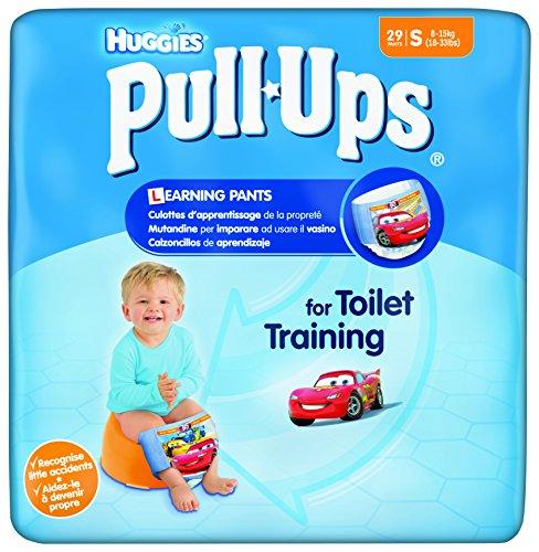 Huggies Pull-Ups -Mutandine di apprendimento per bambino, 29 pz., Taglia 4/S