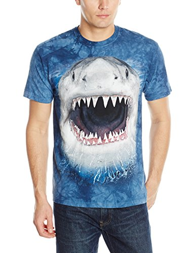 Wicked Nasty Shark Medium Adulto T Shirt by The Mountain