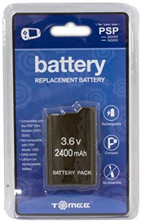 Tomee Replacement Battery for PSP 2000/3000