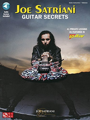 Joe Satriani: Guitar Secrets (CD Edition). For Tablatura di Chitarra, Chitarra