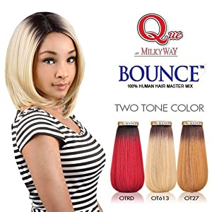 Amazon Com Milky Way Que Human Hair Blend Weave Bounce