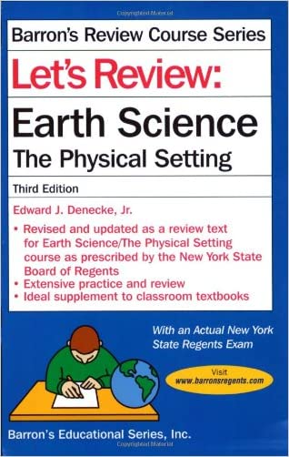 Let's Review: Earth Science (Let's Review Series)