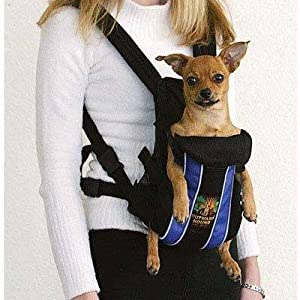 Amazon.com : Dog Supplies Outward Hound Legs Out Front Carrier Small