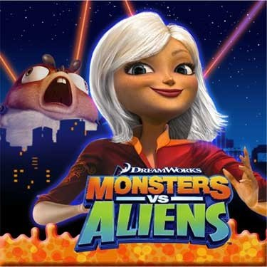 Monsters vs Aliens Beverage Napkins 16ct