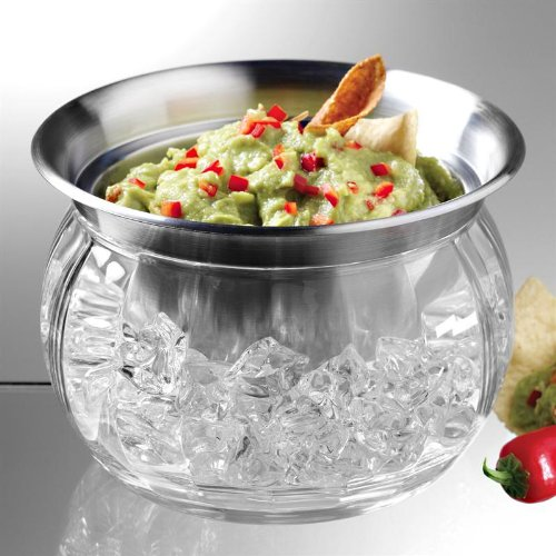 Dip-on-Ice Serving Bowl