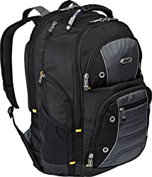 Targus TSB239US Drifter II Backpack Designed for 17-Inch Laptop (Black/Gray)