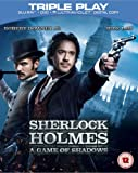 Sherlock Holmes: A Game of Shadows - Triple Play (Blu-ray + DVD + UV Copy) [Region Free]