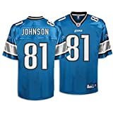 Reebok Detroit Lions Calvin Johnson Replica Jersey XXXX Large