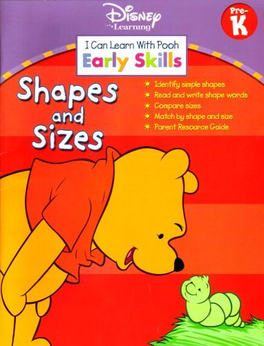 I Can Learn With Pooh - Early Skills Pre-K - Shapes and Sizes - 1