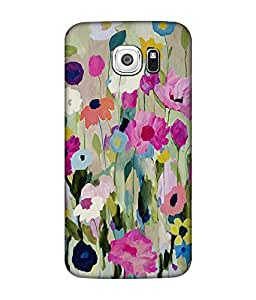 small candy 3D Printed Back Cover For Samsung Galaxy S6 -Multicolor pattern