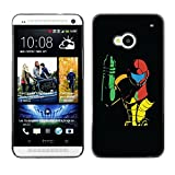 GooooStore Hard Skin Case Cover Pouch - Metroid - HTC One M7