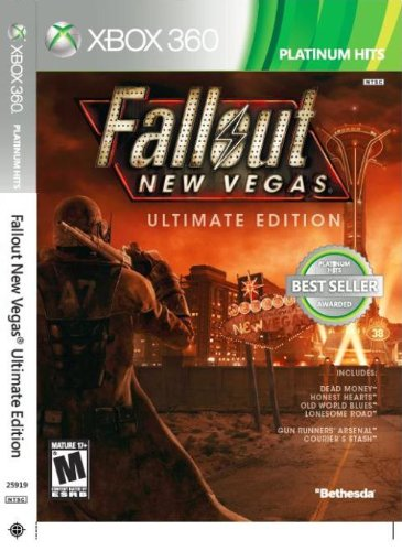 Fallout: new vegas (collector's edition) (2010) xbox 360 box cover.