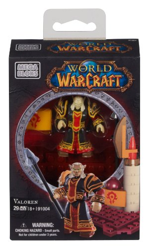 Mega Bloks World of Warcraft Valoren (Horde Blood Elf Priest) - 1