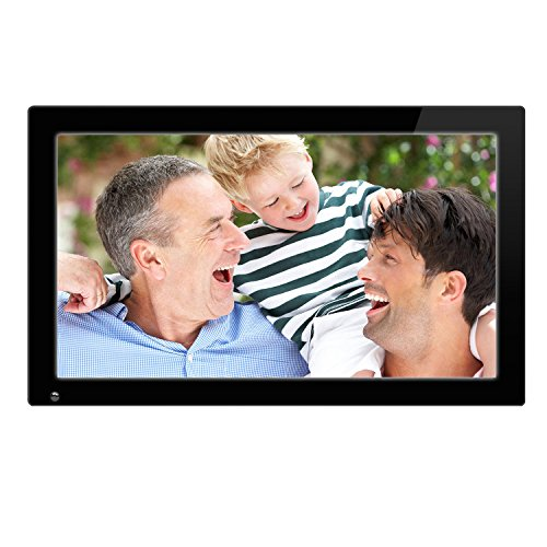 21.5 Inch Full HD 1080P Widescreen Digital Photo Frames with Motion Sensor for Tabletop or Wall Mount Use,16GB USB Memory Stick, Support Photo,Music & Video,HDMI VESA 1920x1080 pixel 16:9 SSA (Full Frame Digital compare prices)