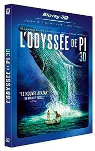 L'Odyssée de Pi - 3D - 2 Blu-Ray + 1 DVD [Blu-ray] [Combo Blu-ray 3D + Blu-ray + DVD]