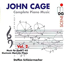 Complete Piano Music Vol.2: Music for Piano 1-84/Music for Piano 85/Electronic Music for Piano