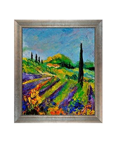 Pol Ledent Provence 451190 Framed Canvas Print