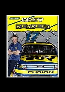 Matt Kenseth NASCAR 8 X 10 Unframed Photo In An 11 X 14 Black Mat by R R Imports
