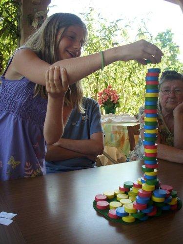Equilibre et Aventure - Jeux de société d'adresse - Iglooo, le jeu version colorée