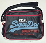 Superdry Mash Up Alumni One Strap Bag in Navy