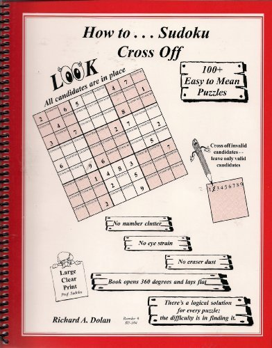 Sudoku Cross Off By Richard A, Dolan - 1
