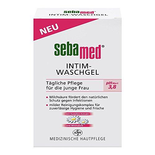 Sebamed Intim Waschgel pH 3,8 für die junge Frau, 200 ml