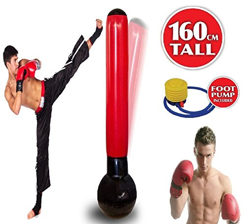 inflatable-punching-tower-free-standing-punch-bag-boxing-water-based-free-pump