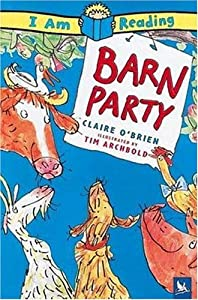 "Cover of ""Barn Party (I Am Reading)"""