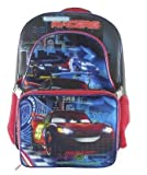 Disney Cars Backpack With Lunch Box - Black Back Pack Lunchbox Cars Lightning McQueen