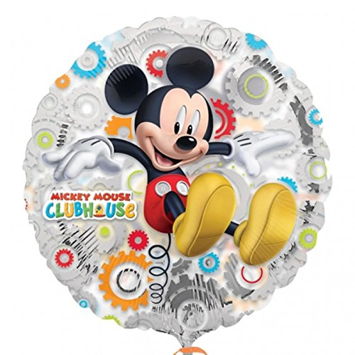 "Anagram International Mickey's Clubhouse Foil Balloon Pack, 18"", Clear"