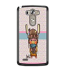 PrintDhaba Cartoon D-4809 Back Case Cover for LG G3 (Multi-Coloured)