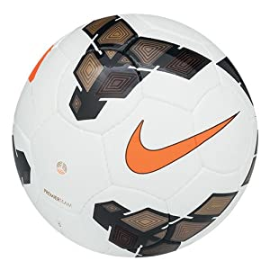 Nike Men's Premier Team Fifa Football - White/Gold/Orange, Size 5