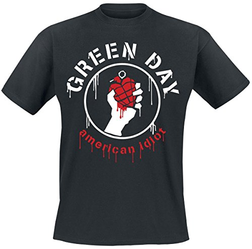 Green Day Drip American T-Shirt nero L