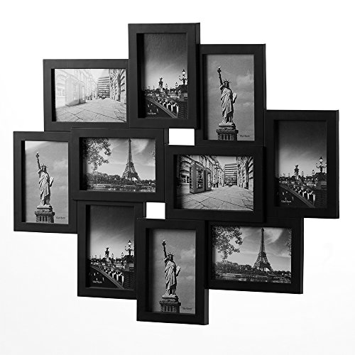 bilderrahmen-bildergalerie-collage-fur-10-fotos-405x44-cm-schwarz