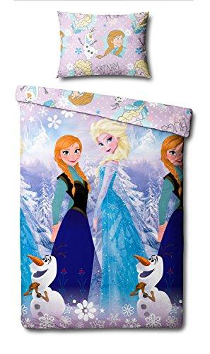 Frozen Disney Funda Nordica Reversible 135X200cm Elsa y Anna