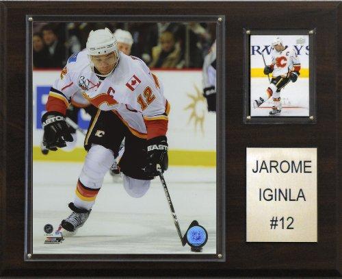 NHL Jarome Iginla Calgary Flames Player Plaque