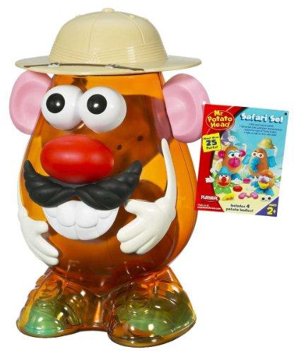 <p>Mr. Potato - Safari, incluye cuerpos y 25 accesorios (Hasbro)</p>