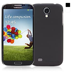 Snugg Galaxy S4 Ultra Thin Case Cover in Black - Ultra Slim, Non Slip Material Protective and Soft to Touch for the Samsung Galaxy S4