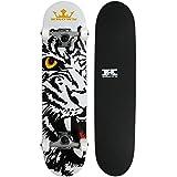 Krown Bengal Rookie Complete Skateboard, 7.5 x 31
