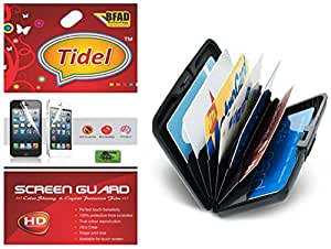 Tidel Ulta Clear Screen Guard for Xolo A500S With Credit Card Holder