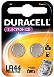Duracell - Pile spéciale appareils électroniques - LR44 Petit Blister x2 (equivalent V13GA, A76, KA76, RW82)
