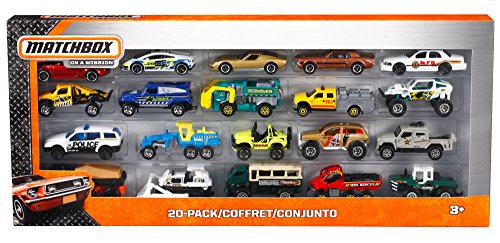 Matchbox On A Mission: 20-Pack Car Set (Styles May Vary) (Police Cars Matchbox compare prices)
