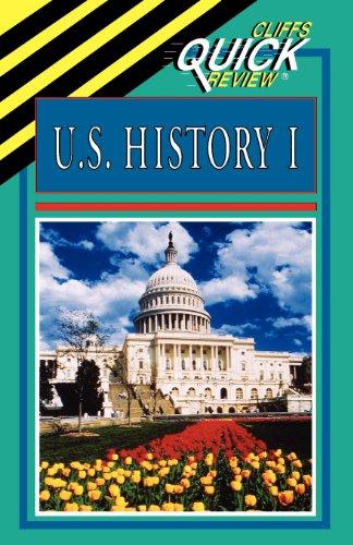 U.S. History I (Cliffs Quick Review) front-454669