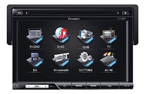 Farenheit TI-710  1-DIN Multimedia Source Unit with Detachab